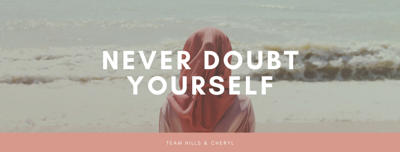 Peach Woman Beach Motivational Quote Facebook Cover