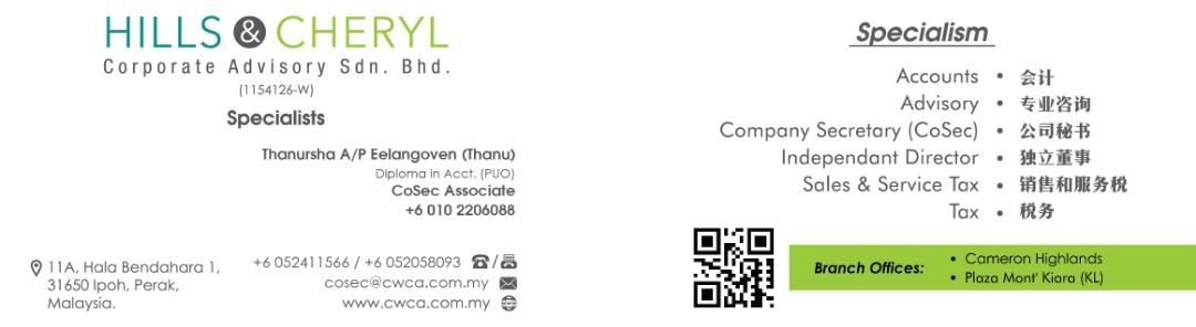 Thanur Namecard