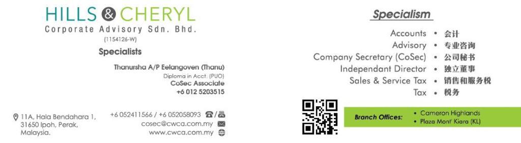 Thanursha Name Card