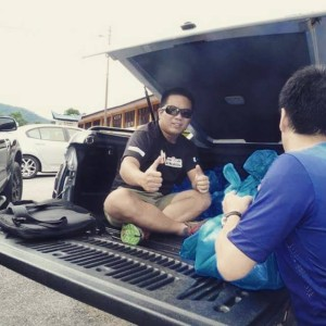 Truck, unload, black, hot