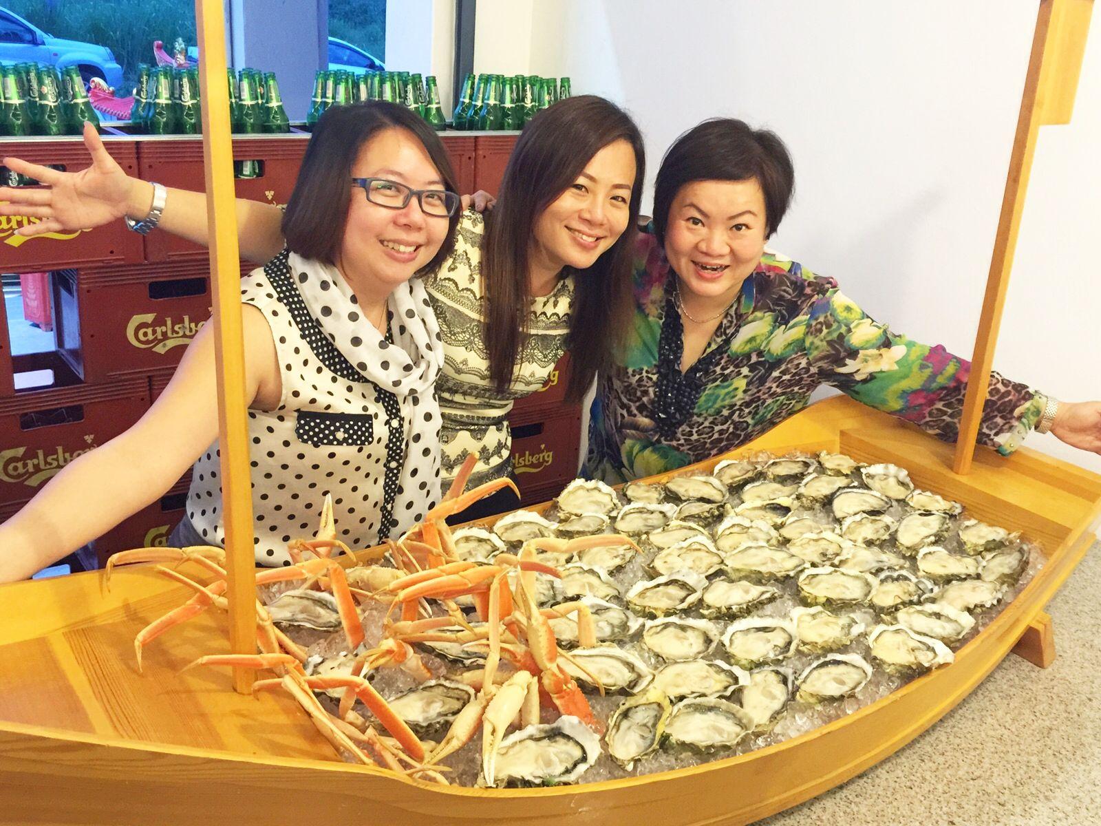 oyster, ship, yin yin