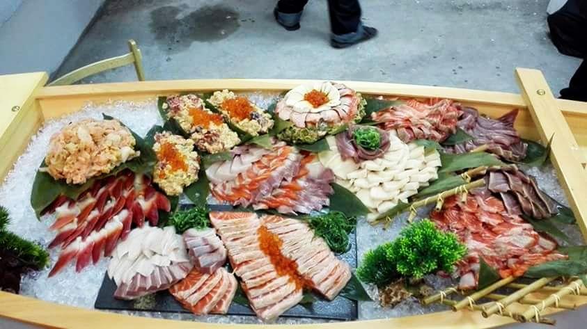 Tuna, sushi, fillet, raw