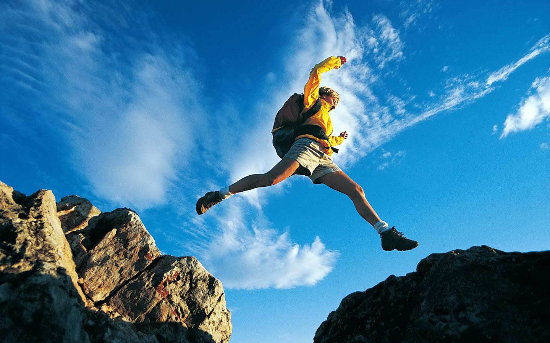 Mountain climbing, adventure