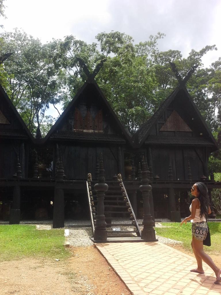 Black house, Chiang Rai Thailand