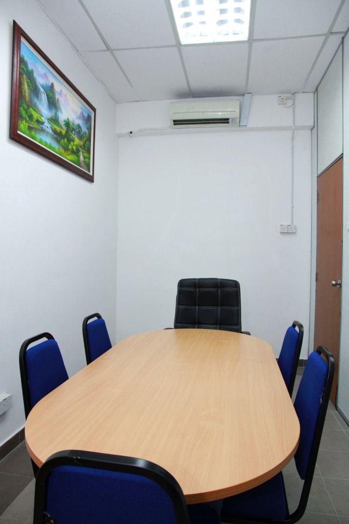 Boardroom back view
