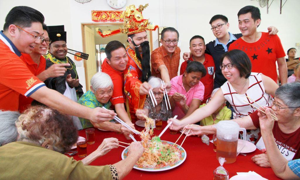 Lao Sang 2016, chinese salad