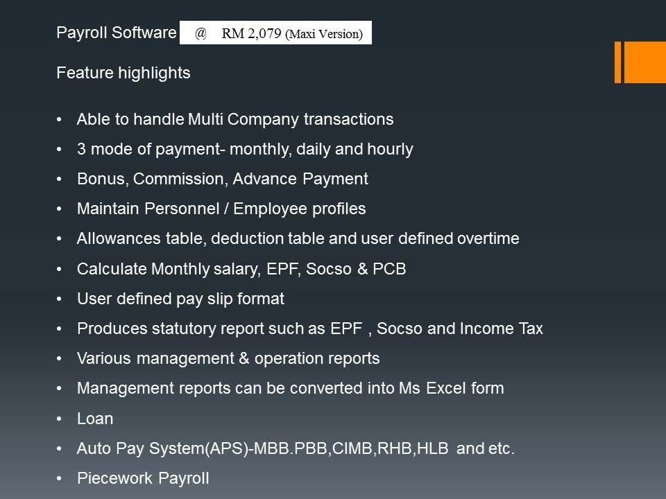 Payroll Maxi
