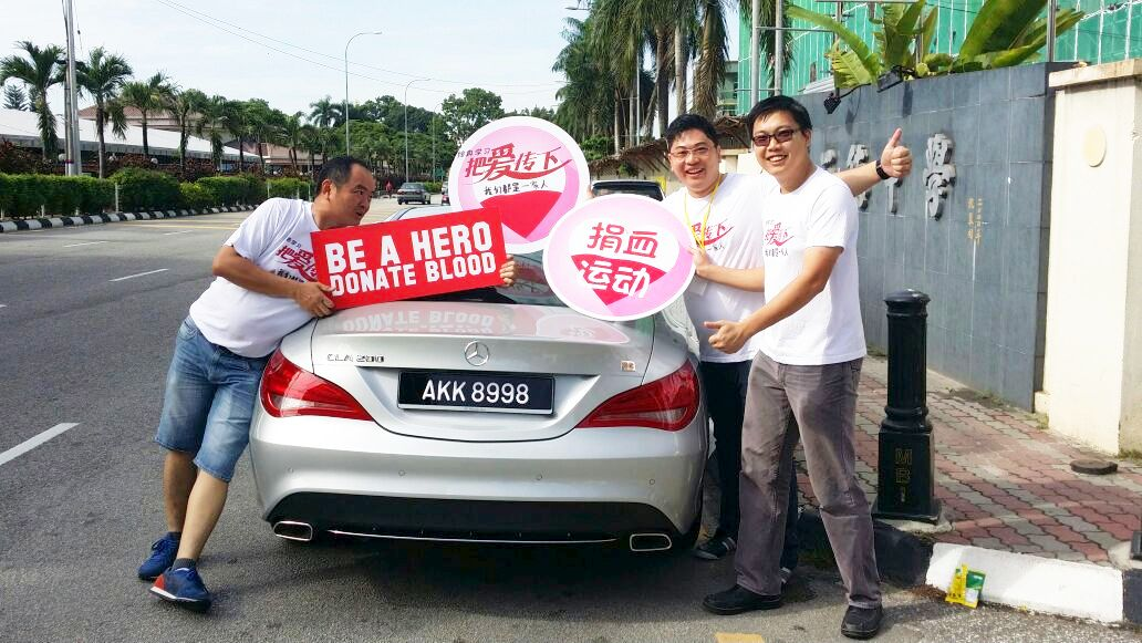 Blood donation in Ipoh