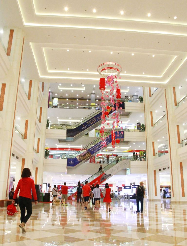 Shopping malls in Vietnam
