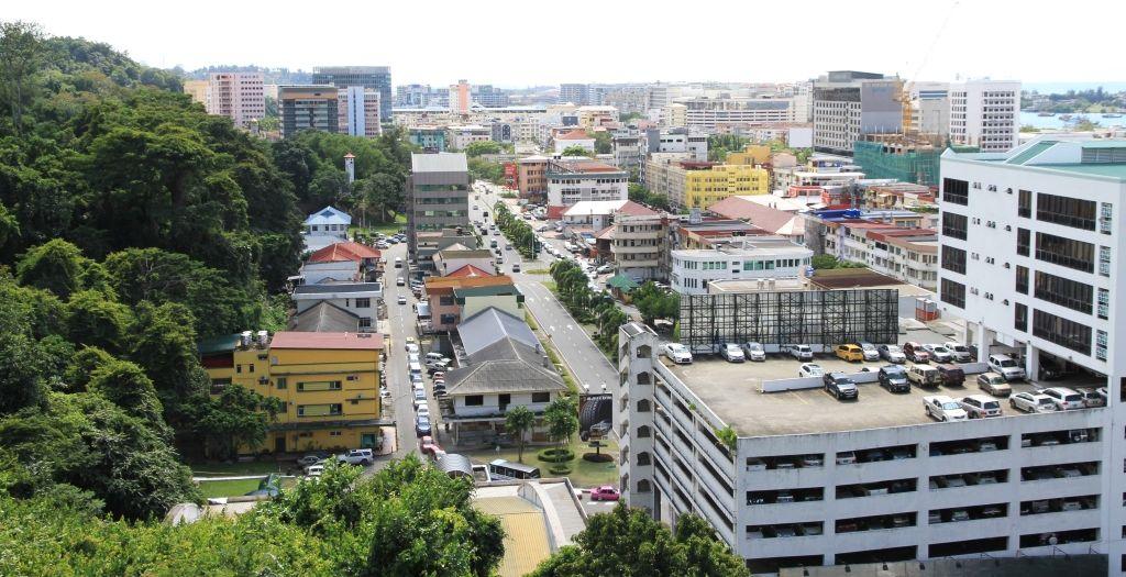 Kota Kinabalu, town area