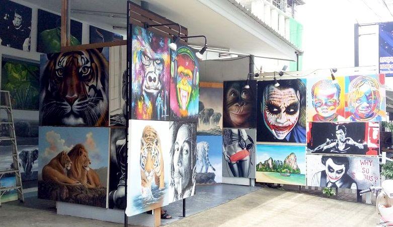Art Street in Phuket