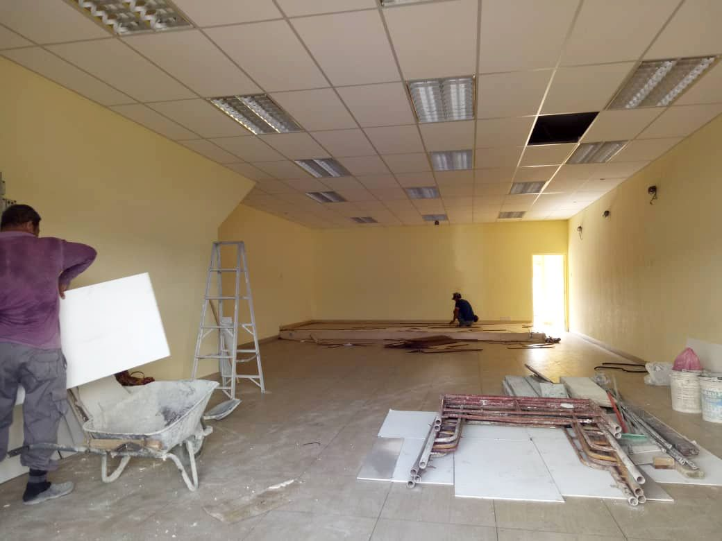 Renovation works 11112019